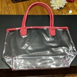 Juicy Couture clear tote